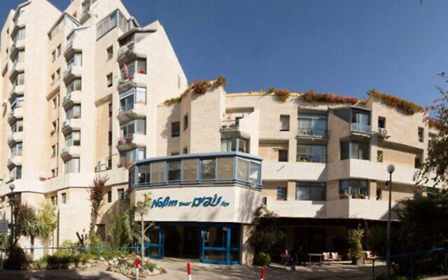 Le bâtiment Nofim à Jérusalem abrite une maison de retraite. (Autorisation)