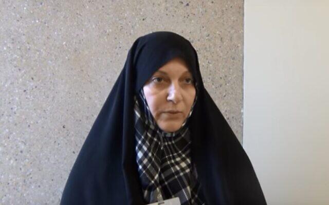 Fatemeh Rahbar. (Capture d'écran YouTube)