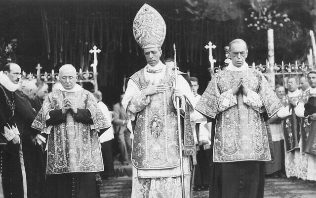 Le pape Pie XII. (Crédit : AP)