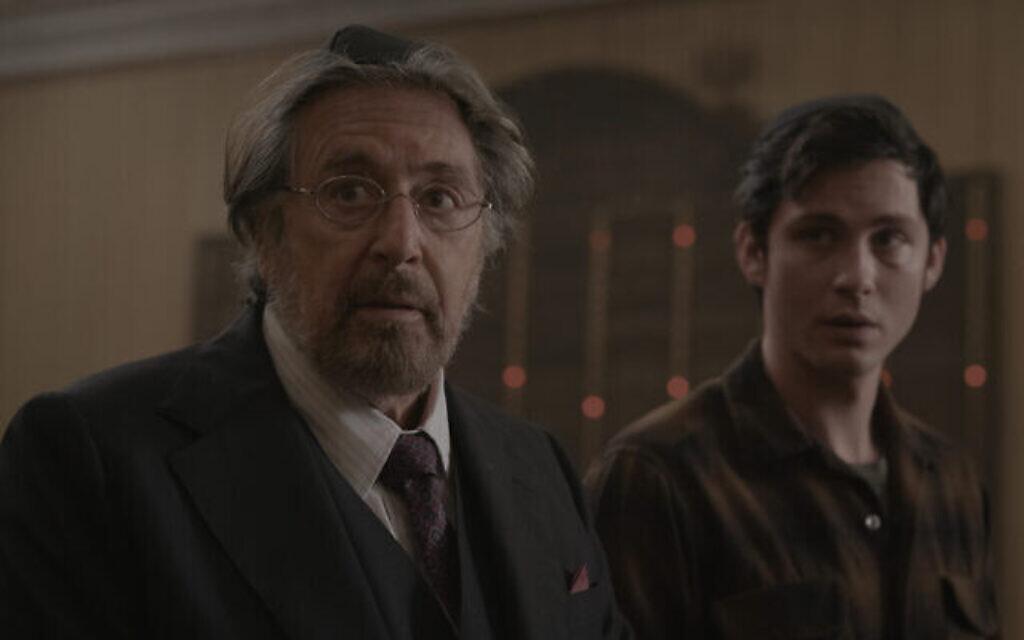 """Al Pacino (à gauche) dans un extrait de """"Hunters"""", une nouvelle série d'Amazon. (Avec l'aimable autorisation de Amazon Studios)"""