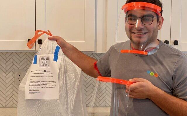 Certains des produits anti-coronavirus disponibles auprès du Tikkun Olam Movement. (Autorisation : TOM - Tikkun Olam Makers)