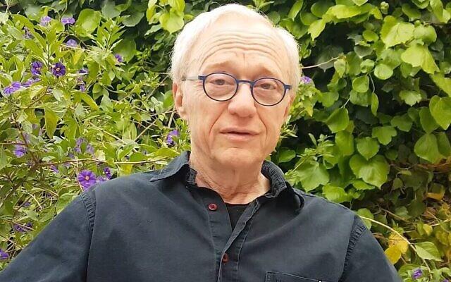 Le romancier David Grossman s'est hâté de terminer son dernier livre pour le lire aux enfants pendant la crise du coronavirus (Autorisation : PJ Library)