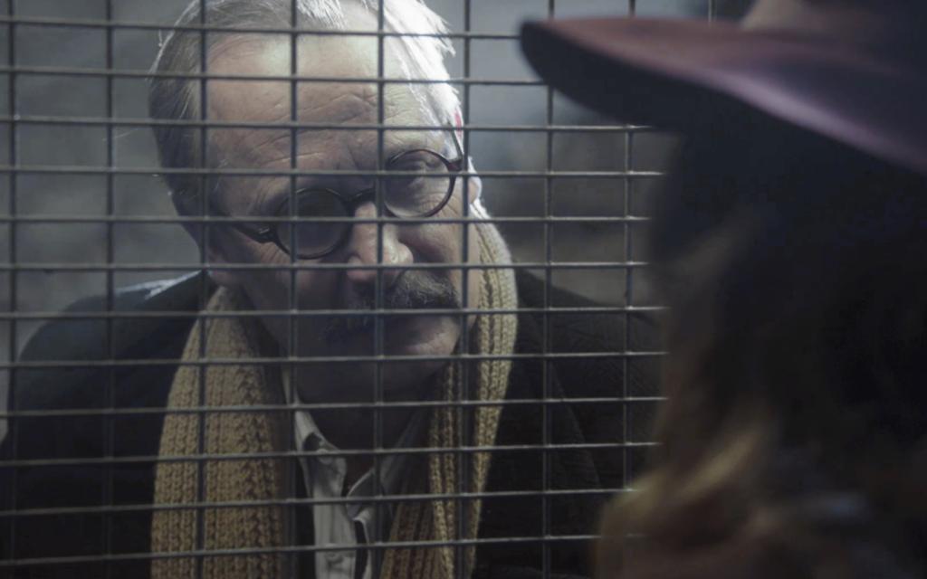 """Hippolyte Girardot dans une capture d'écran de """"Je ne rêve que de vous"""", ou """"An Irrepressible Woman"""". (Autorisation)"""