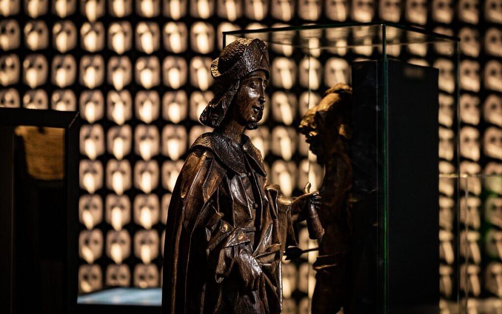 St. Roch, qui, croyait-on, protégeait de la peste (Autorisation : Musée d'archéologie de Herne)