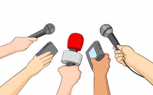 Micros, magnéto. Illustration pour les médias. (Crédit : freepik)