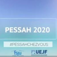 La campagne #PessahChezVous lancée par l'Union des étudiants juifs de France et le Fonds social juif unifié.
