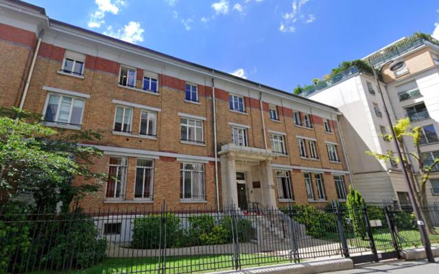 Façade de l'Ehpad Rothschild, rue de Picpus, dans le 12e arrondissement de Paris (Crédit : capture d'écran Google)