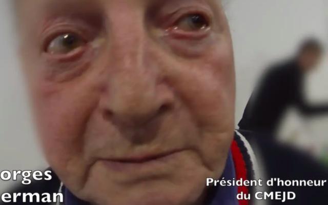 Georges Cukierman, résistant et militant communiste, est décédé à 94 ans.(Capture d'écran YouTube Elaine Kibaro)