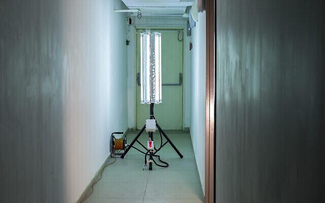 Le système de lampes UV développé à l'aide de l'IA qui pourrait combattre le coronavirus. (Autorisation)