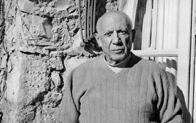 Cette photo datée du 3 février 1968 montre le peintre et sculpteur espagnol Pablo Picasso. (AFP PHOTO)