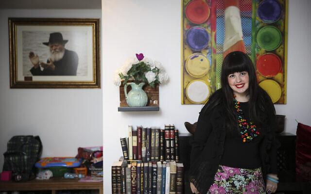 Chani Lipshitz, l'envoyée du Chabad à Katmandou en novembre 2014 (Hadas Parush/Flash90)