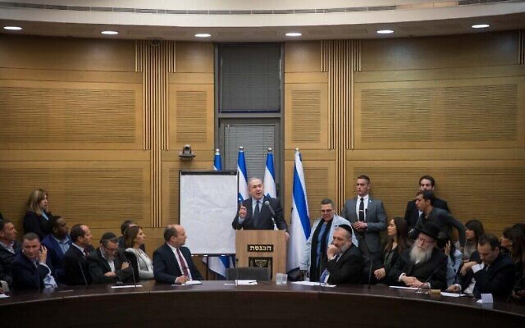 Le sprint de Netanyahu et Gantz pour former un gouvernement — Israël
