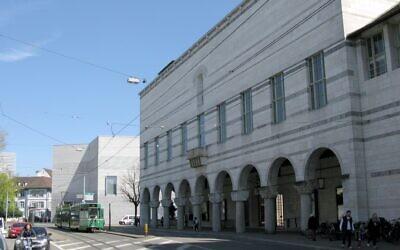Le Kunstmuseum à Basel en Suisse (Andreas Schwarzkopf/Wikimedia Commons)