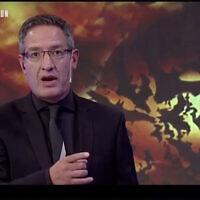 Capture d'écran d'une vidéo du journaliste argentin Tomás Ariel Méndez sur ADN Tv. (JTA)