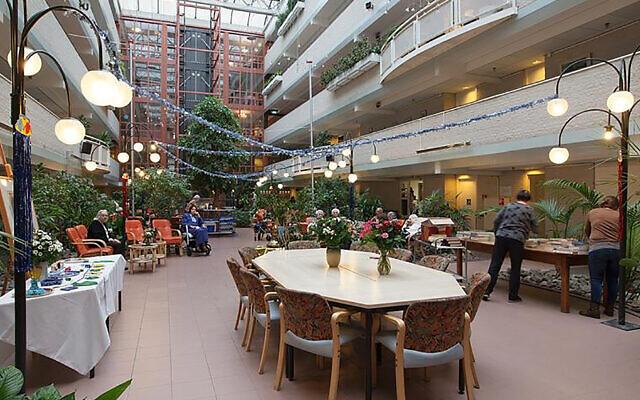 La maison de retraite Beth Shalom aux Pays-Bas. (Beth Shalom via JTA)