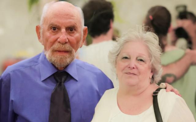 Danny et Julia Avrahami, tous deux décédés du Covid-19 à une semaine d'intervalle. (Autorisation de la famille)
