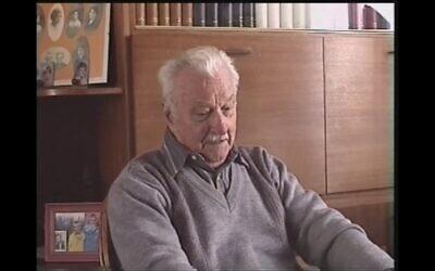 Georges Kieffer. (Capture d'écran YouTube / Gilles Bourrien)