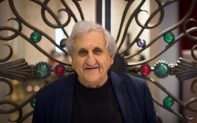 """Le nouveau livre de l'écrivain israélien A.B. Yehoshua, """"The Tunnel"""", parle d'une solution à un seul État. (Autorisation/ Rafaela Fahn Schoffman)"""