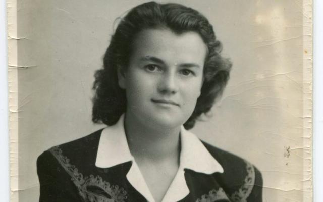 Paulette Sarcey. (Crédit : Mémorial de la Shoah / Collection Sarcey)