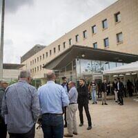 Illustration : Le bâtiment du ministère des Affaires étrangères à Jérusalem, le 15 novembre 2018. (Yonatan Sindel/Flash90)