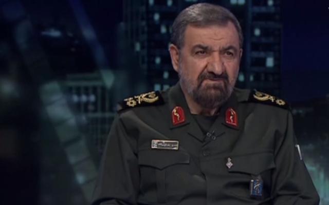 Le secrétaire du Conseil de discernement de l'intérêt supérieur du régime iranien Mohsen Rezaei. (Capture d'écran MEMRI)