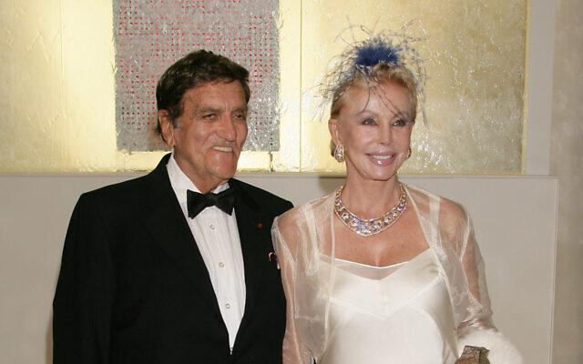 Tony Murray et la Baronne Von Brandstetter. (Stephane Cardinale/Corbis via Getty Images et JTA)