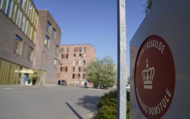 Cette photographie prise le 26 juin 2020 montre le tribunal de Roskilde au Danemark qui doit rendre son verdict pour déterminer si un homme irano-norvégien est coupable d'avoir aidé les services de renseignements iraniens à assassiner un opposant iranien exilé dans la ville de Ringsted. (Photo par Mads Claus Rasmussen / Ritzau Scanpix / AFP)