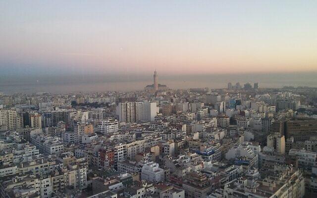 Lever du soleil à Casablanca. (Crédit : SpreeTom/ CC BY-SA 4.0)