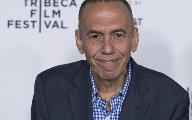 Gilbert Gottfried assiste à une avant-première au Festival du film de Tribeca, le 19 avril 2017, à New York. (Crédit : Charles Sykes/Invision/AP)