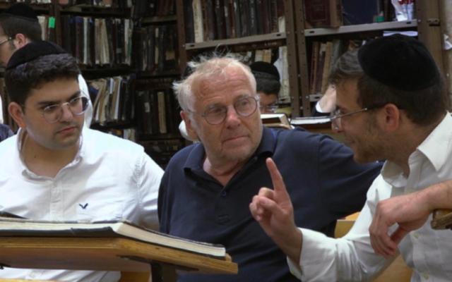 Daniel Cohn-Bendit, dans le documentaire «La case du siècle - Nous sommes tous Juifs allemands». (Crédit : SiècleProductions /France Télévisions)