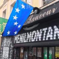 La façade du bar Le Saint-Sauveur, à Ménilmontant, à Paris. (Crédit : Saint Sauveur / Facebook)
