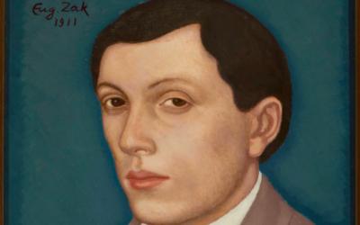 Autoportrait d'Eugène Zak. (Crédit : Domaine public)