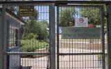 Les portes de l'école Paula Ben Gurion à Jérusalem, le 31 mai 2020 (Crédit : Olivier Fitoussi/Flash90)