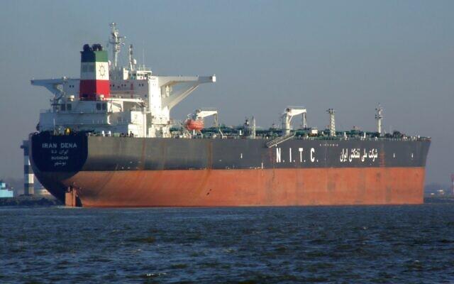 Le navire Iran Dena. (Crédit : Alf van Beem / CC0)