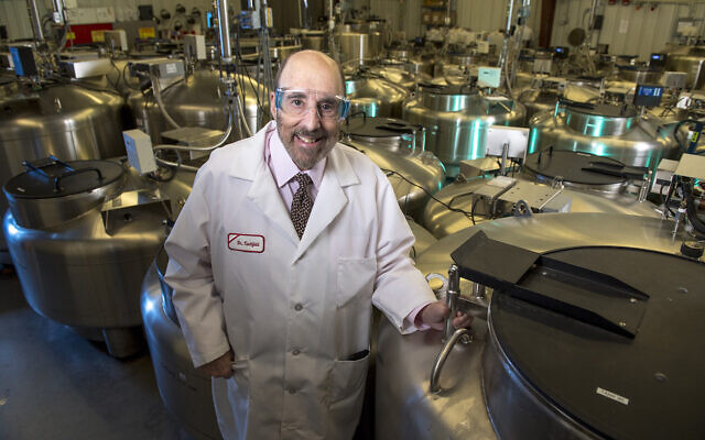 Professeur émérite de génétique, Dr. Jay A. Tischfield, Université de Rutgers-Nouveau-Brunswick. (Avec l'aimable autorisation de Rutgers)