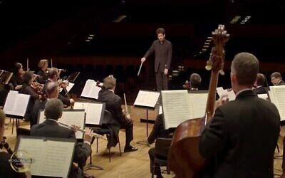 Le gala international 2020 de l'orchestre philharmonique. (Capture écran/YouTube)