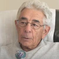Emilio DiPalma lors d'une interview sur le procès de Nuremberg. (Capture d'écran YouTube)