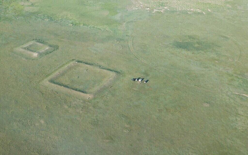 Des forts de l'ère médiévale dans les steppes de Mongolie (Autorisation : Université hébraïque)