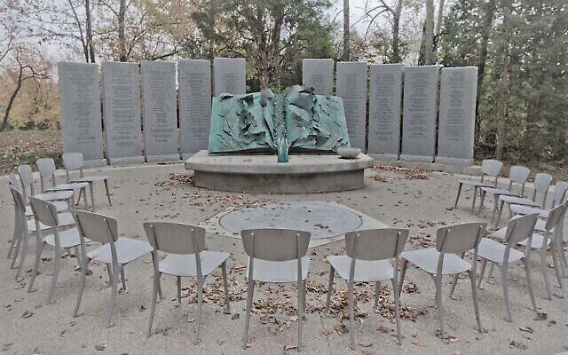 Le mémorial de la Shoah de Nashville (Crédit : nashvilleholocaustmemorial.org via JTA)
