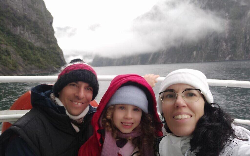 Photo non datée de la famille Shabtai en Nouvelle-Zélande. (Autorisation)