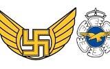 L'ancien emblème de de l'armée de l'Air finlandaise comprenant une croix gammée (Ministère de la Défense finlandais)