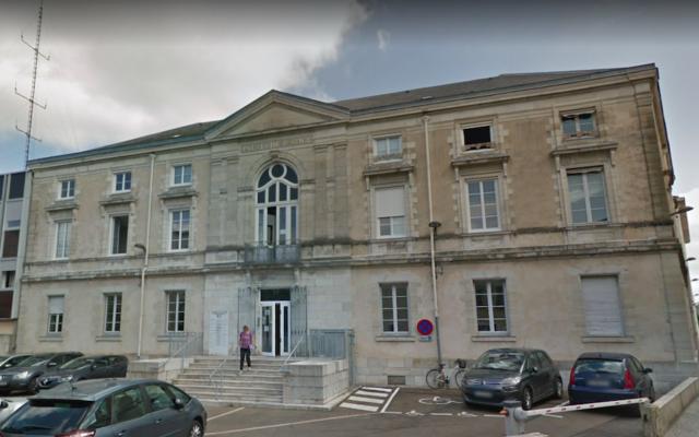 Le palais de justice de Dax. (Crédit : capture d'écran Google Maps)