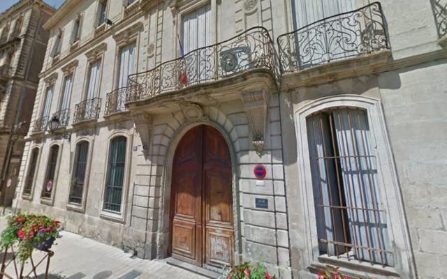 L'hôtel particulier de Cassagne, à Béziers. (Crédit : capture d'écran Google Maps)