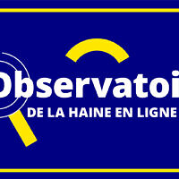 Le logo de l'Observatoire de la haine en ligne, placé sous l'égide du CSA.