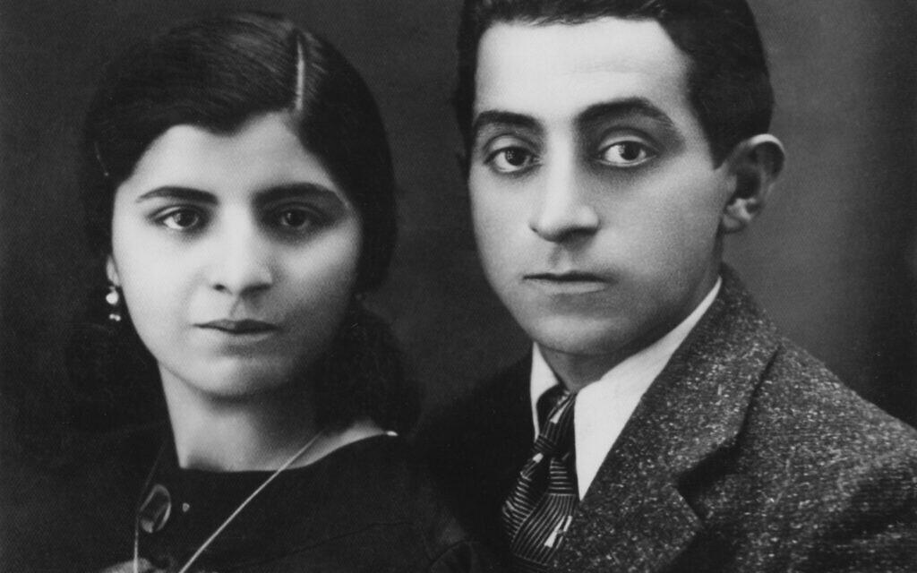 Les parents d'Esther Amini, Hana Levi, 14 ans, et Fatulla Aminoff, 34 ans, jeunes mariés. (Autorisation)
