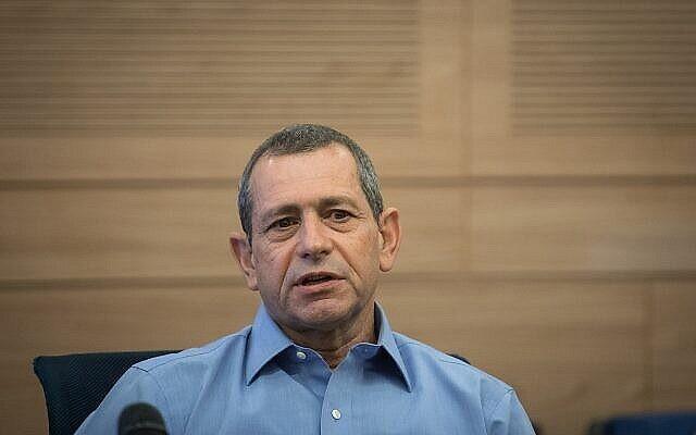 Le chef du Shin Bet, Nadav Argaman, assiste à une réunion de la commission de la défense et des affaires étrangères de la Knesset, le 6 novembre 2018. (Hadas Parush/Flash90)