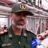 Alireza Tangsiri, commandant du Corps des Gardiens de la révolution islamique. (Capture d'écran/YouTube)