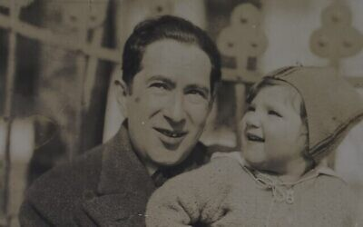 Une photo de Walter et Evelyn Frankler au début des années 1930 (Crédit : Wiener Holocaust Library Collections)