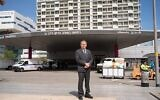 Michael Halberthal, directeur général du Rambam Health Care Campus. (Avec l'aimable autorisation du Rambam Health Care Campus)