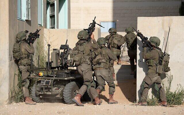 Les soldats de la Ghost Unit [Unité fantôme] de l'armée israélienne participent à un exercice d'entraînement d'une semaine, en juillet 2020. (Armée israélienne)